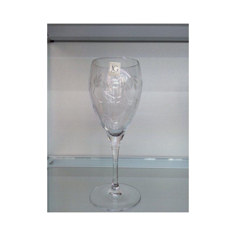 chamrousse cristal jg durand verre pied 18cl 25cl. Black Bedroom Furniture Sets. Home Design Ideas
