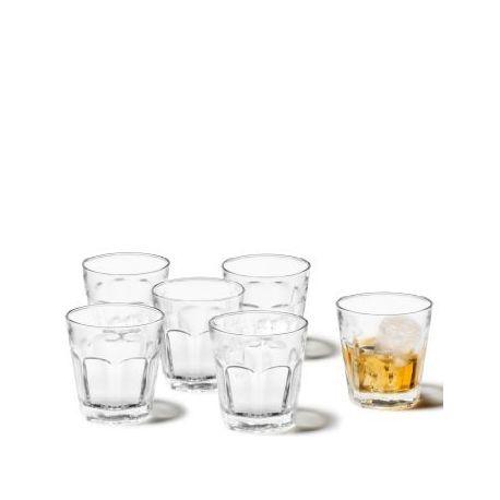 Rock - Coffret 6 verres à whisky - Leonardo