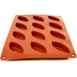 Flexipad - Moule 12 petites barquettes silicone - Paderno