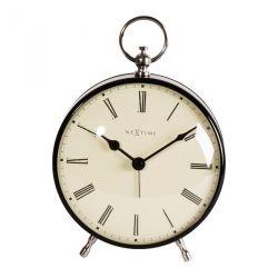 Charles Nextime réveil classique en métal avec aiguilles 12,5 cm