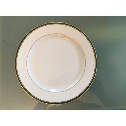 Assiette à dessert Nuagé Vert Anglais ou Sanguine Bernardaud