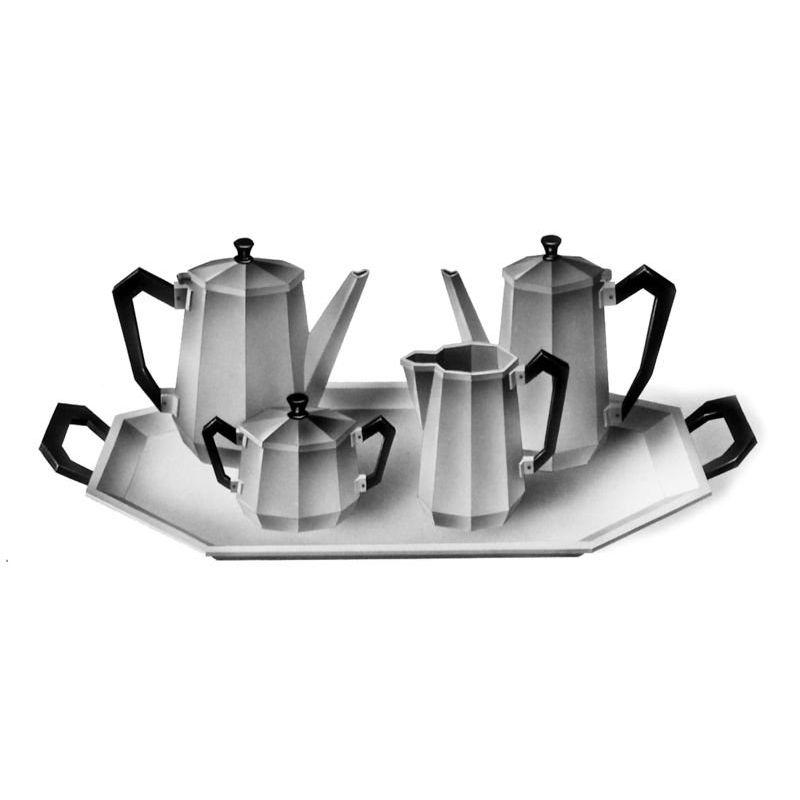 théière 90 cl Alessi inox 18/10 design Carlo Alessi