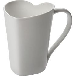 To mug coeur Alessi porcelaine bone china design Miriam Mirri