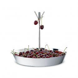 Tutti Frutti Corbeille à fruits Alessi, en inox ou laquée blanc