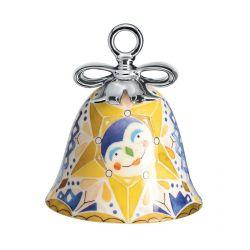Boule Cloche de Noël Alessi porcelaine Holy Family Etoile