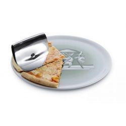 Taio Roulette à pizza Alessi en acier inox 18/10 brillant