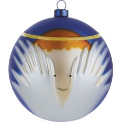 Angioletto boule de Noël Alessi en verre soufflé
