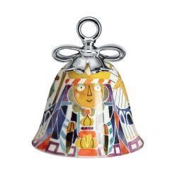 Boule Cloche de Noël Alessi porcelaine Holy Family Balthazar