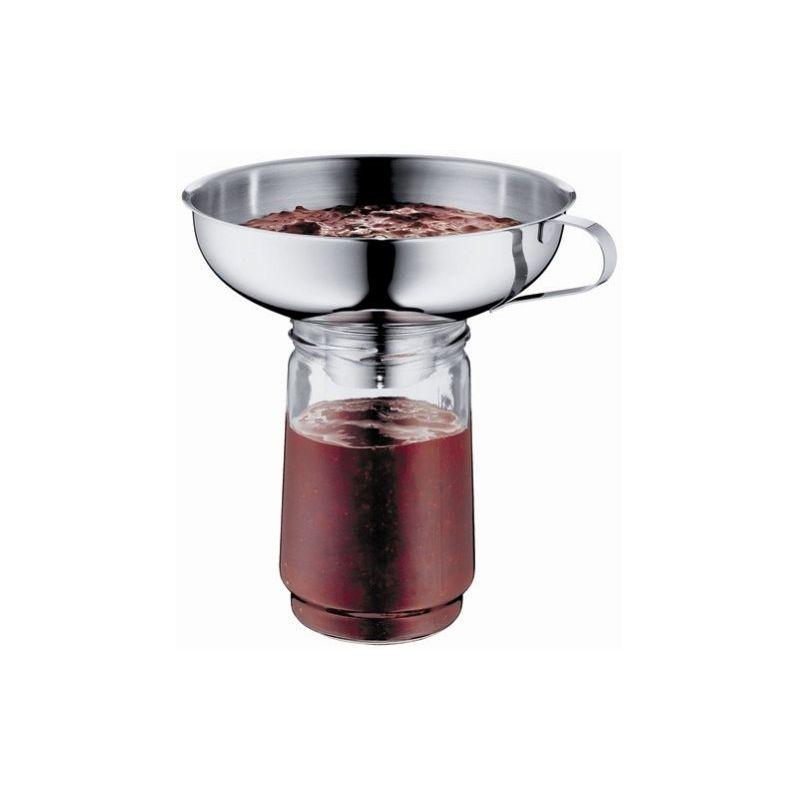 Entonnoir pour les pots de confiture inox 18 10 gsd for Ustensiles de cuisine en inox 18 10