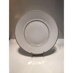 Assiette plate 26 cm Nereides Marly Bernardaud porcelaine