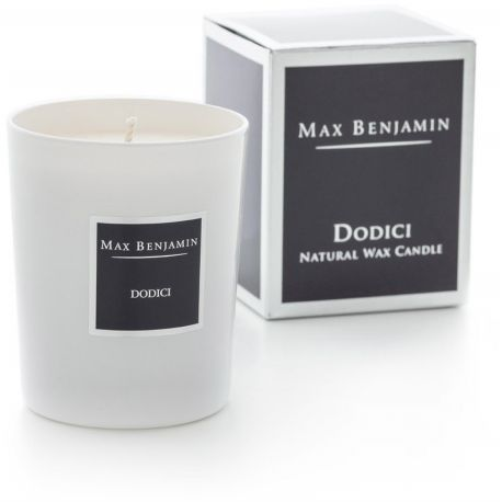 Max Benjamin bougie parfumée huiles essentielles 40h Dodici