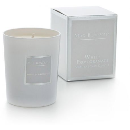 Max Benjamin bougie parfumée Grenade blanche huiles essentielles