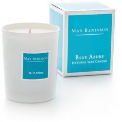 Max Benjamin bougie parfumée Bleu azur huiles essentielles 40h