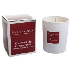 Max Benjamin bougie parfumée 100% naturel 40h Girofle & Cannelle