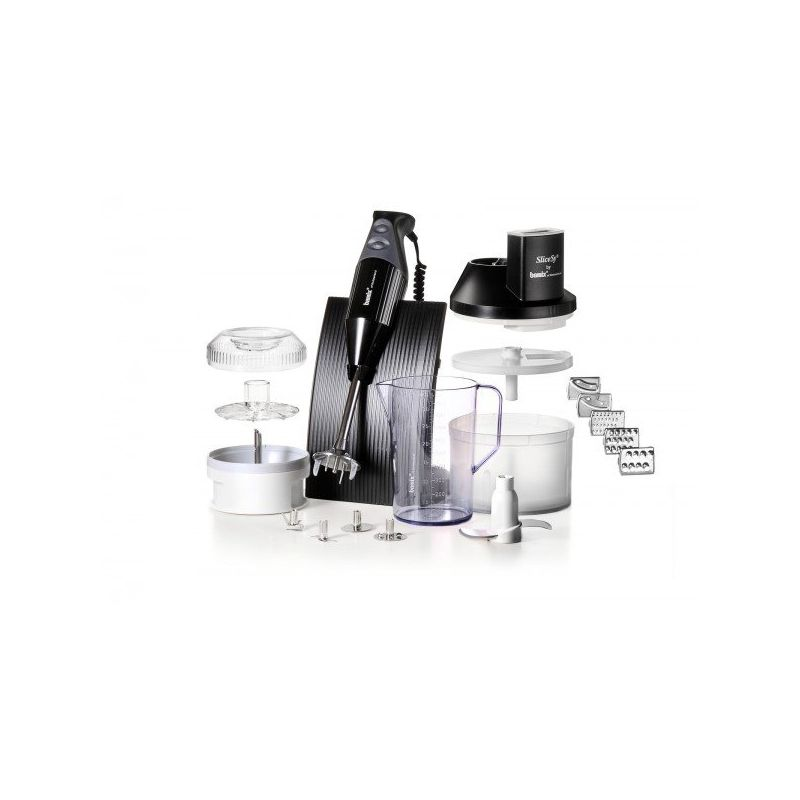 Bamix box swissline slicesy mixeur et robot de cuisine for Robot mixeur cuisine