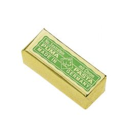 Pâte abrasive verte Puma, pour cuir à rasoir. Affûte la lame