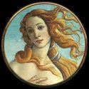 La Naissance de Vénus Botticelli - Miroir de poche refermable