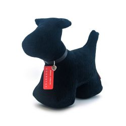 Max le chien Monica Richards Bloque porte XL en feutre noir cottelé