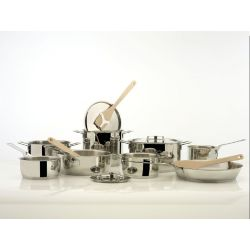 Pots & Pans Alessi Faitout inox tous feux dont induction