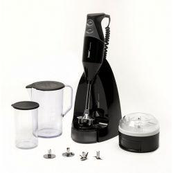 Bamix Swissline M250 Black Edition, Mixeur plongeant 250 Watts