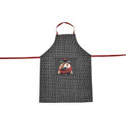 L ours brun Robeo de Laissez Lucie Faire, tablier de cuisine