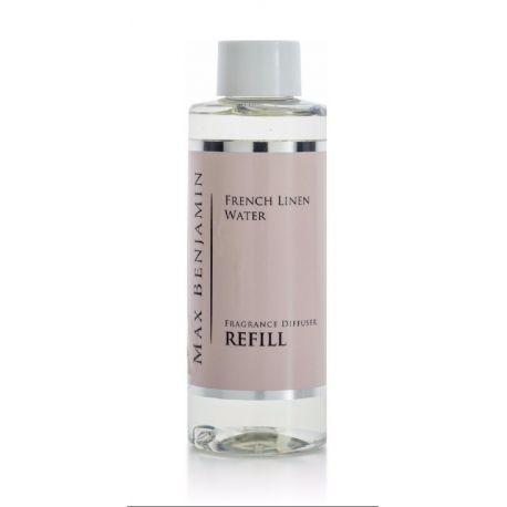max benjamin recharge 150 ml pour diffuseur de parfum eau de lin. Black Bedroom Furniture Sets. Home Design Ideas