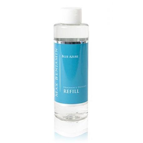 Max Benjamin Recharge 150 ml pour diffuseur de parfum Bleu azur