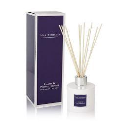 Max Benjamin diffuseur de parfum Cassis & Jasmin blanc, naturel