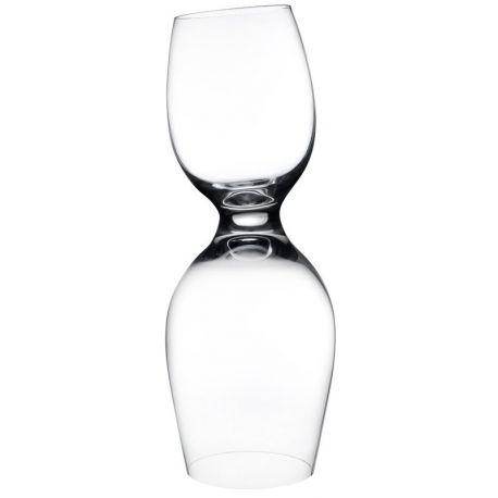 Red or White - Coffret de 2 verres à vins Design Ron Arad - Nude