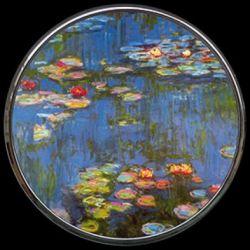 Bassin aux Nymphéas de Claude Monet - Miroir de poche refermable