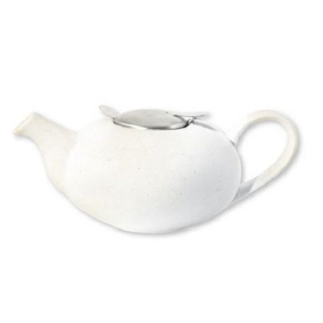 th i re anglaise pebble en c ramique blanc mouchet london pottery. Black Bedroom Furniture Sets. Home Design Ideas