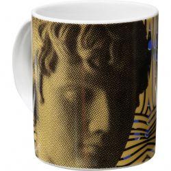 Antinous Flower, Mug en porcelaine, création Sophia