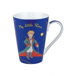 Mug Le Petit Prince bleu en porcelaine Konitz