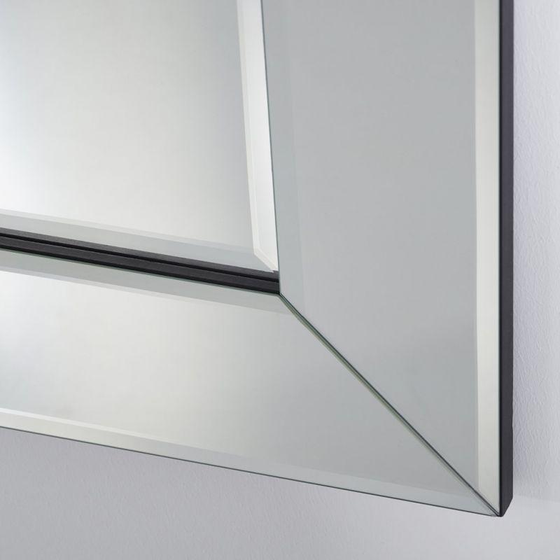 Basta miroir carr classique deknudt mirrors 80x80 cm for Miroir 80x80