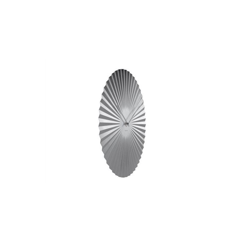 sensu xl karlsson horloge murale ovale en m tal 50cm. Black Bedroom Furniture Sets. Home Design Ideas