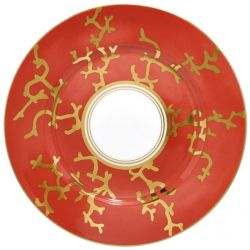 Cristobal Rouge - Raynaud- Assiette dessert 22cm n°2 porcelaine
