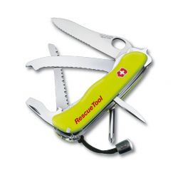 RescueTool One hand, Couteau suisse fluo spécial sauveteurs