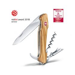 WineMaster Couteau suisse Sommelier Victorinox manche en olivier