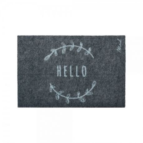 Tapis Lewis Mad about Mats, toucher grattant 50x75, antidérapant