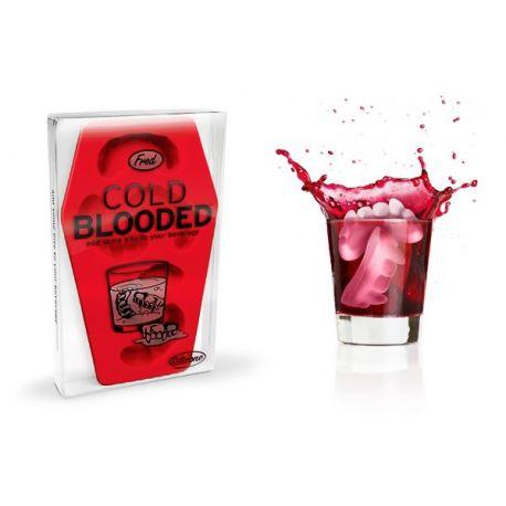 Cold blooded, moule à glaçons en silicone par Fred