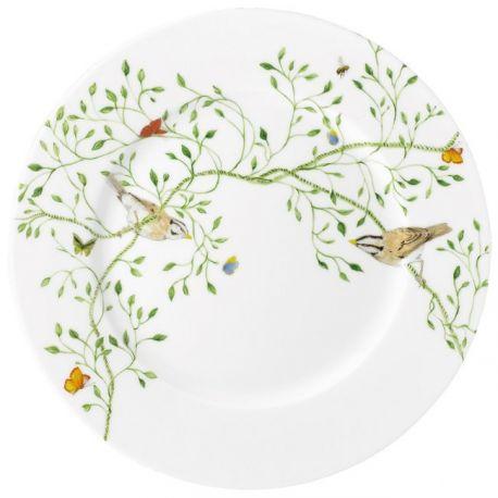 Histoire Naturelle - Raynaud - Assiette gâteau 19,5cm porcelaine