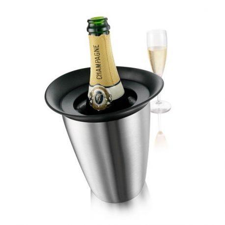 Active Champagne - Seau à champagne avec glacette - Vacuvin