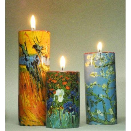 Vincent van Gogh - Set de 3 bougeoirs, en céramique - Parastone