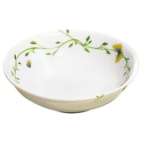 Histoire Naturelle Porcelaine de Limoges Assiette à os