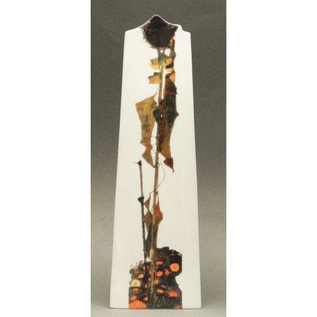 Tournesol d Egon Schiele - Vase en céramique 25 cm