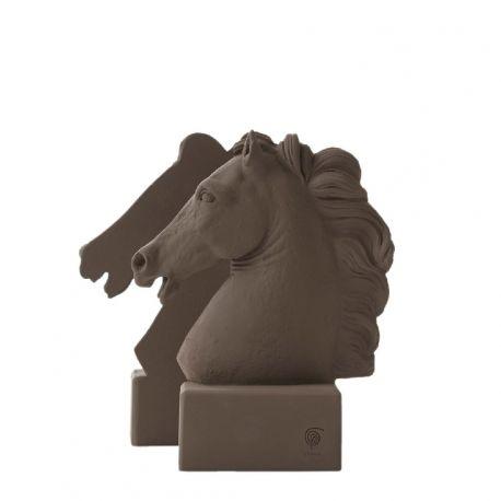 Tête de cheval - Serre-livre céramique sienne ou noire