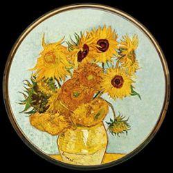 Tournesols de Vincent van Gogh - Miroir de poche - Parastone