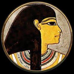Reine Isis - Miroir de poche refermable - Parastone
