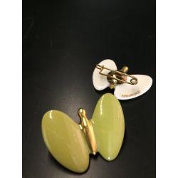 Broche Papillon Bernardaud Bijoux Porcelaine de Limoges