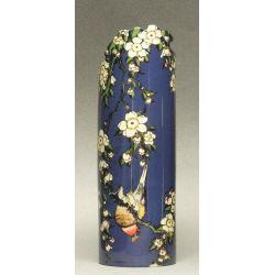 Bird with flowers Hokusai - Vase en céramique 19 cm - Parastone